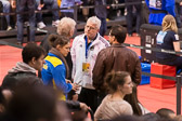 Detlef Ultsch war erster deutscher Judo Weltmeister 1979 und ist jetzt Bundestrainer Männer.