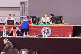 Annett Böhm (Bronzemedaille 2004 Athen) kommentiert live die Wettkämpfe.