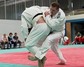 2. Kampf.  (Stand 1-0),  Peter Blatt - Sergej Ruppel +100 kg: