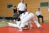 1. Kampf.  (Stand 0-0),  Felix Götz -81 kg: