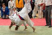 Die HTG Bad Homburg verliert den Mannschaftskampf gegen den späteren Turniersieger Bushido Wüstems.
