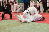 Mirco Ohl unser amtierender Hessenmeister (-100 kg) läßt nichts anbrennen und holt sich mit drei vorzeitigen Ippons die Goldmedaille.