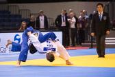Vorrunde 1 -81kg: Dominic Ressel (GER) - Tomohiro Kawakami (JPN): Dominic gewinnt vorzeitig mit Ippon