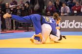 Vorrundenkampf -63 kg: Nina Milosevic (SLO) - Vivian Herrmann (GER):