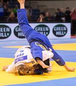 Vorrundenkampf -63 kg: Martyna Trajdos (GER) - Meerim Momunova (KGZ):