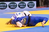 Vorrundenkampf -63 kg: Martyna Trajdos (GER) - Meerim Momunova (KGZ): Waza-ari Wertung für Martyna