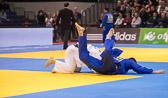 Vorrundenkampf -81 kg: Sven Maresch (GER) - Srdjan Mrvaljevic (MNE): Am Ende gewinnt Sven mit einem Yuko.