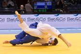Vorrunde 1 -90kg: Aaron Hildebrand (GER) - Beka Gviniashvili (GEO):
