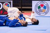 Vorrunde 1 -90kg: Erkin Doniyorov (UZB) - Eduardo Silva (BRA): Erkin siegt mit Ippon