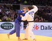 Vorrunde 1 -90kg: Timur Bolat (KAZ) - Yannick Gutsche (GER): Vorrundenaus für Yannick, er verliert mit einem Yuko.