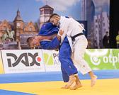 Vorrunde 2 -90kg: Karl-Richard Frey (GER) - Flavio Orlik (SUI): Nach einem Freilos in der ersten Runde siegt Frey mit einem Yuko.