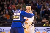 Vorrunde 1 -78kg: Maike Ziech (GER) - Zarina Raifova (KAZ): Maike gewinnt mit Waza-ari.