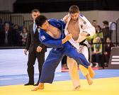 Vorrunde 2 -90kg: Marc Odenthal (GER) - Daiki Nishiyama (JAP): Nach einem Freilos in der ersten Runde, scheidet Marc mit einer Waza-ari und Yuko Wertung gegen sich vorzeitig aus dem Turnier aus.