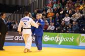 Vorrunde 2 -78kg: Anamari Velensek (SLO) - Kerstin Thiele (GER): Kerstin hat  den Kampf verloren.