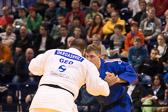 Vorrunde 2 +100kg: Adam Okruashvili (GEO) - Pierre Borkowski (GER): Pierre verliert den Kampf.