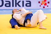 Vorrunde 2 -78kg: Abigel Joo (HUN) - Maike Ziech (GER): Abgewürgt