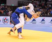 Vorrundenkampf - 78 kg: Luise Malzahn (GER) - Iris Lemmen (NED): Luise siegt vorzeitig durch eine Würgetechnik.