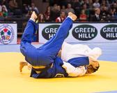 Viertelfinale -90kg: Ilias Iliadis (GRE) - Ciril Großklaus (SUI): Vorzeitiger Sieg für Ilias und damit Einzug in Halbfinale.