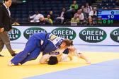 Viertelfinale + 78 kg Lucia Polavder (SLO) - Carolin Weiss (GER): Carolin rettet ihren Waza-ari Vorsprung über die Zeit und zieht somit ins Halbfinale ein.