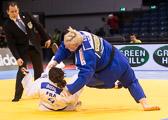 Viertelfinale +78 kg: Emilie Andeol (FRA) - Jasmin Külbs (GER): Ipponsieg für Jasmin