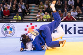 Viertelfinale -78 kg: Maike Ziech (GER) - Madeleine Malonga (FRA):