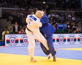 Viertelfinale -78 kg: Maike Ziech (GER) - Madeleine Malonga (FRA): Am Ende der vollen Kampfzeit verliert Maike wegen 3 Shidos auf ihrem Konto. In der Trostrunde hat sie noch Chancen Bronze zu gewinnen.