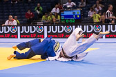Trostrunde -100 kg: Dino Pfeiffer (GER) - Rafael Buzacarini (BRA): Ippon für Rafael