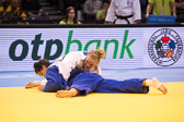 Viertelfinale -78 kg: Luise Malzahn (GER) - Zhehui Zhang (CHN): Sieg für Luise durch einen perfekt ausgeführten Ura-nage.