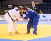 Halbfinale +78 kg: Franziska Konitz (GER) - Carolin Weiss (GER):