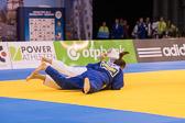 Halbfinale +78 kg: Franziska Konitz (GER) - Carolin Weiss (GER): Waza-ari für Carolin. Am Ende gewinnt jedoch Franziska und zieht ins Finale ein.