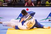 Halbfinale -78 kg: Maike Ziech (GER) - Zhehui Zhang (CHN): Maike verliert im Haltegriff.