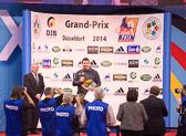 Nach einer beispiellosen Karriere wurde Andreas Tölzer im Rahmen des Judo-Grand-Prix in Düsseldorf aus dem Nationalkader verabschiedet.