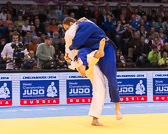 Kampf um Bronze -90 kg: Zviad Gogotchuri (GEO) - Romain Buffet (FRA):