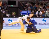 Kampf um Bronze -78 kg: Zhehui Zhang (CHN) - Audrey Tcheumeo (FRA):