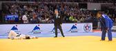 Kampf um Bronze -78 kg: Zhehui Zhang (CHN) - Audrey Tcheumeo (FRA): Audrey gewinnt Bronze