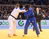 Kampf um Bronze -78 kg: Natalie Powell (GBR) - Madeleine Malonga (FRA):