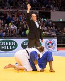 Kampf um Bronze -78 kg: Natalie Powell (GBR) - Madeleine Malonga (FRA): Gewinn der Bronzemedaille für die Britin.
