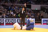 Kampf um Bronze -100 kg: Sergei Samoilovich (RUS) - Tuvshinbayar Naidan (MGL): Naidan gewinnt Bronze
