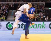 Kampf um Bronze -100 kg: Rafael Buzacarini (BRA) - Karl-Richard Frey (GER):