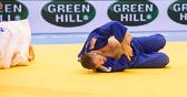Kampf um Bronze -100 kg: Rafael Buzacarini (BRA) - Karl-Richard Frey (GER): Frey verliert vorzeitig durch einen Armhebel.