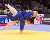 Kampf um Bronze +78 kg: Lucija Polavder(SLO) - Jasmin Külbs (GER):