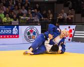 Kampf um Bronze +78 kg: Lucija Polavder(SLO) - Jasmin Külbs (GER): Jasmin holt sich mit einem Uchi-Mata die Bronze Medaille.