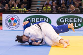 Kampf um Bronze +78 kg: Song Yu (CHN) - Carolin Weiss (GER):