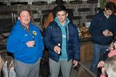 Nach der Rückkehr am Abend in Bürstadt, erfolgte eine spontane Überraschungsparty im Hause Kilian, bei der Freunde, Vereinsmitglieder, Trainer, Familie und Nachbarn den Erfolg gemeinsam feierten.