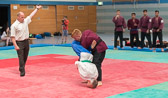 3. Kampf.  (Stand 0-2) Mirko Schwarzwälder -66 kg: