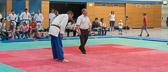 7. Kampf.  (Stand 3-3) Mirco Ohl -100 kg: Mirco siegt kampflo. Damit 4-3 Endstand und Sieg für das JudoTeam.
