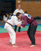 4. Kampf.  (Stand 0-3) Harald Dudyka -81 kg: