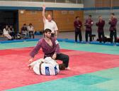 4. Kampf.  (Stand 0-3) Harald Dudyka -81 kg: Auch der vierte Kampf geht mit einem Ippon verloren.