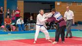 6. Kampf.  (Stand 1-3) Michael Radig -90 kg: