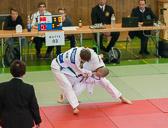 1. Kampf Stand 0-0 Ian Störmer(-50): Ian gewinnt mit 2 mal Yuko für Osoto-gari und Ippon für De-ashi-barei
